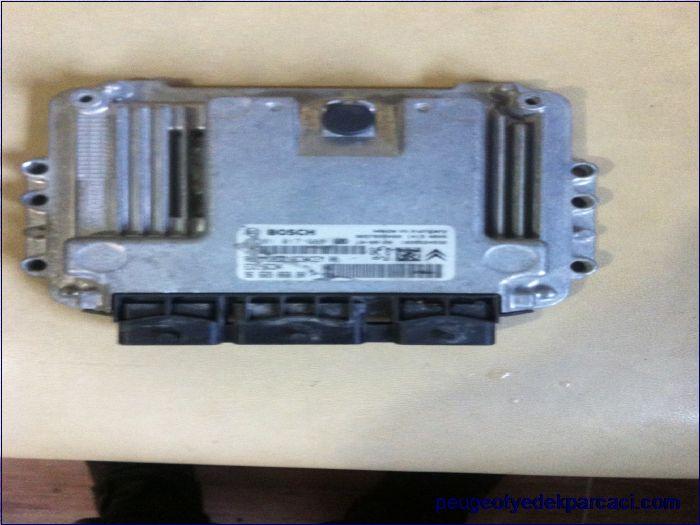 Citroen c3 motor beyni 0281017388
