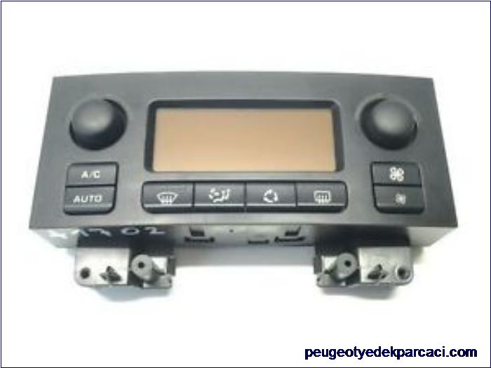 Citroen c4 kalorifer kontrol paneli 9658084577