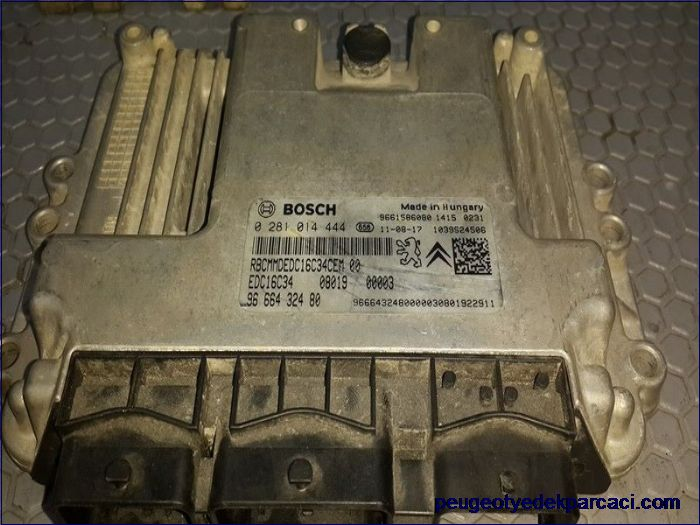 Citroen nemo motor beyni 0281014444 9666432480