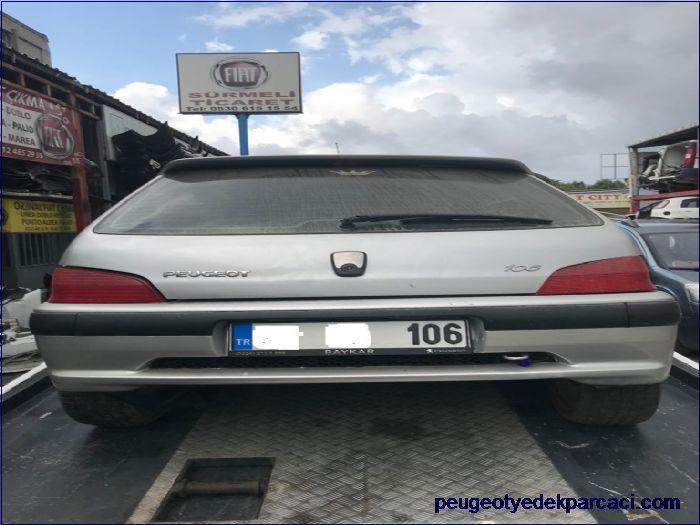 Peugeot 106 Bagaj Kapaðý
