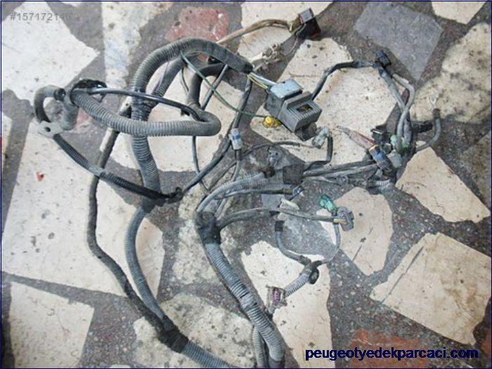 Peugeot 206 elektrik tesisatý