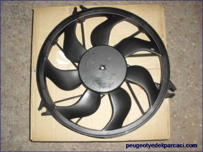 Peugeot 206 Fan Motoru