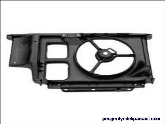 Peugeot 206 Fan Paneli Klimasýz