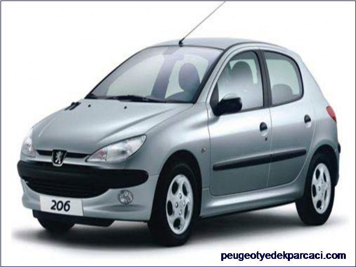 Peugeot 206 Sol Arka Kapý