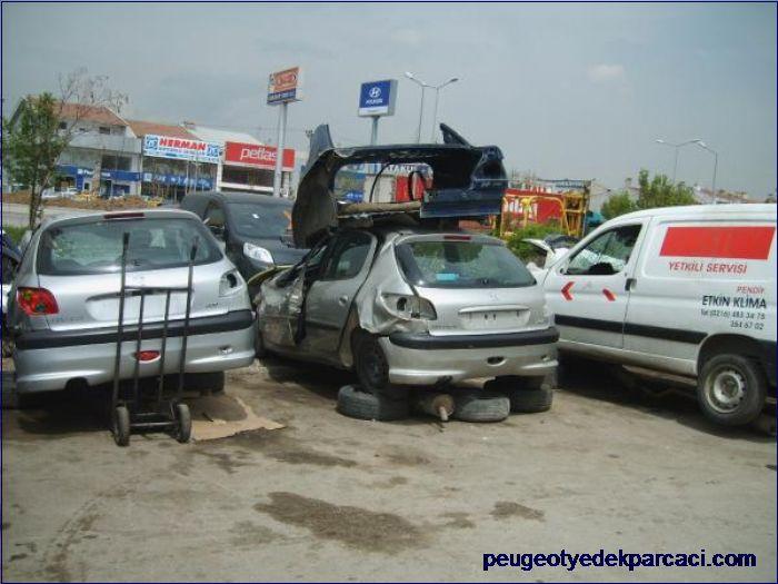 Peugeot 206 tavan döþemesi