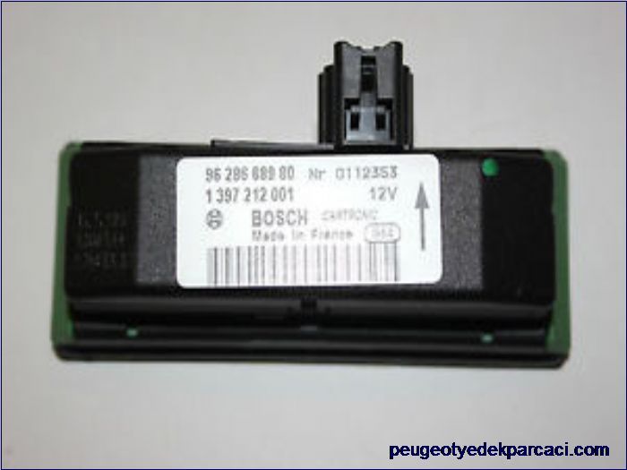 Peugeot 206 yaðmur sensörü 9628668980