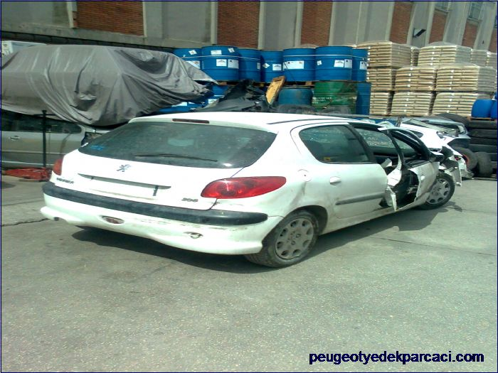 Peugeot 206 yedek parça