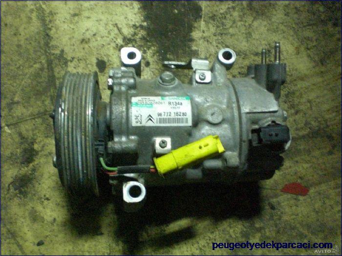 Peugeot 207 klima kompresörü 9671216280