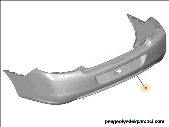 Peugeot 301 arka tampon