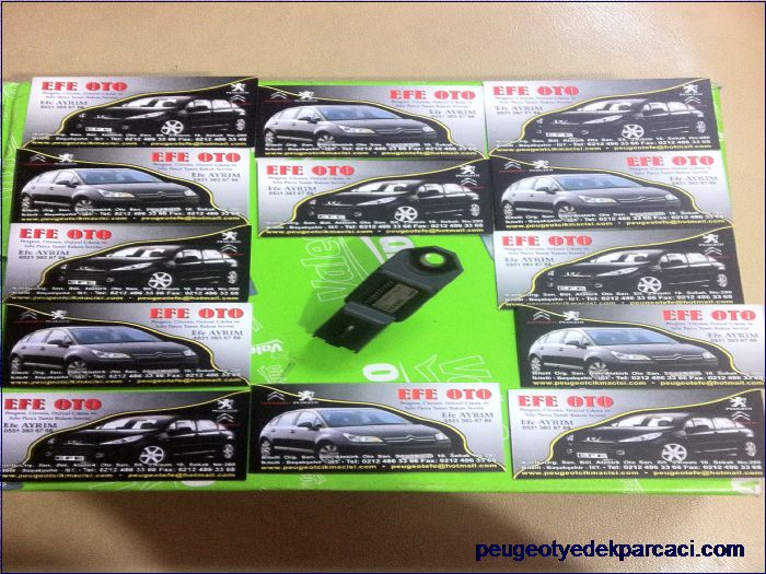 Peugeot 307 2.0 hdi manifol basınç sensörü 9639027480