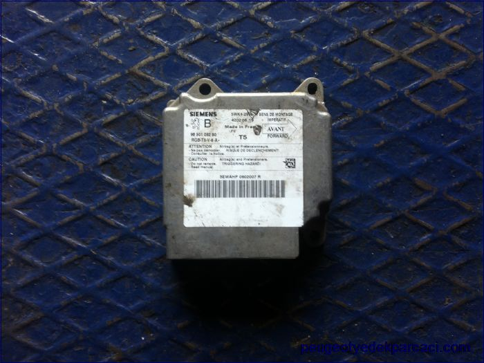 Peugeot 307 airbag beyni 9650109280