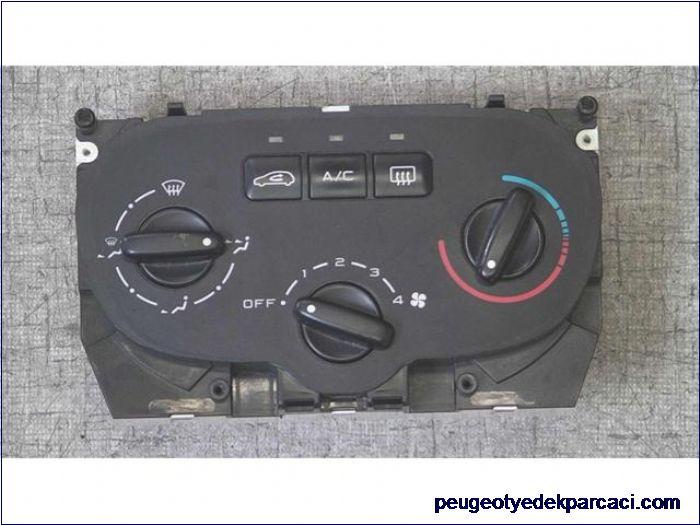 Peugeot 307 kalorifer kontrol paneli