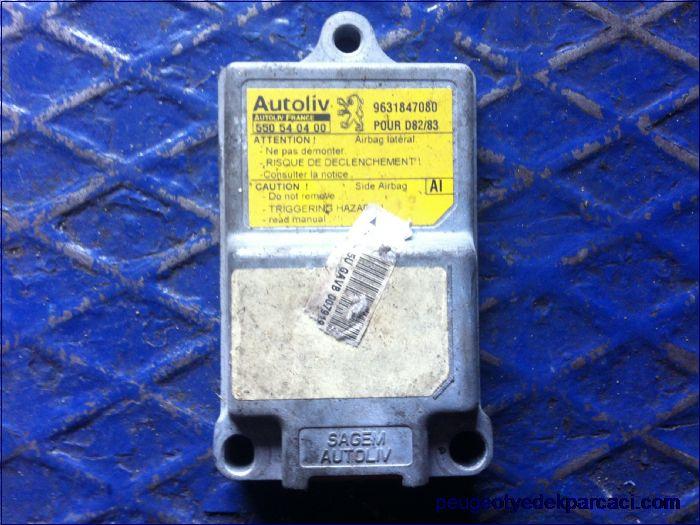 Peugeot 406 airbag kontrol sensörü 9631847080