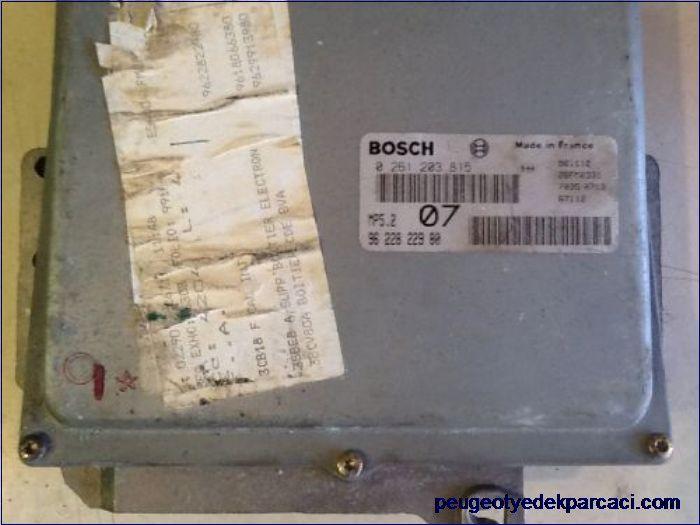 Peugeot 406 Motor Beyni 0261203815-9622822980