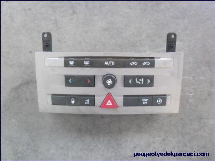 Peugeot 407 kalorifer kontrol paneli 96573326YX