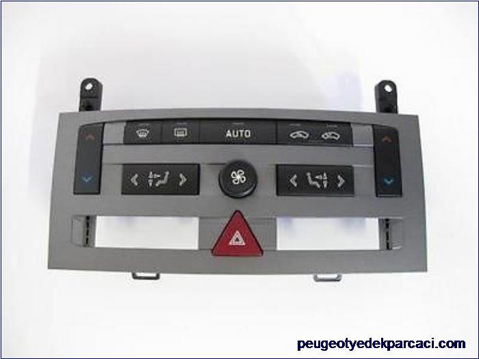 Peugeot 407 kalorifer kontrol paneli çift yönlü 96573322YW