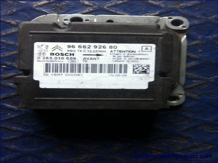 Peugeot 5008 airbag beyni 9666292680