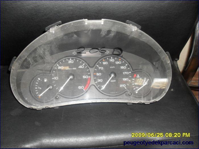 Peugeot Partner Gösterge Saati